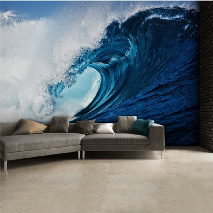 Blue Ocean - Wave wallpaper mural